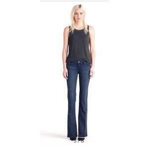 PAIGE- Dark Wash Blue Jeans Skyline Bootcut Sonya